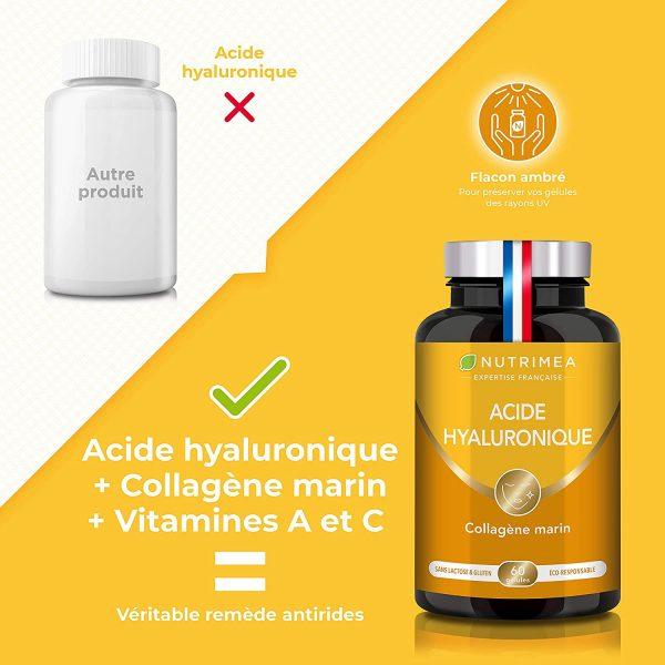 Le collagène marin et acide hyaluronique de Nutrimea : Posologie